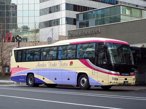 網走観光交通「まりも急行札幌号」 ・367 その1