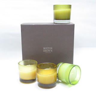 Molton Brown Garden Solstice Candle Set