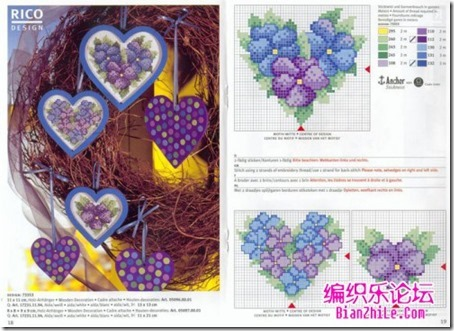 corazones en punto de cruz laborespuntocruz (1)