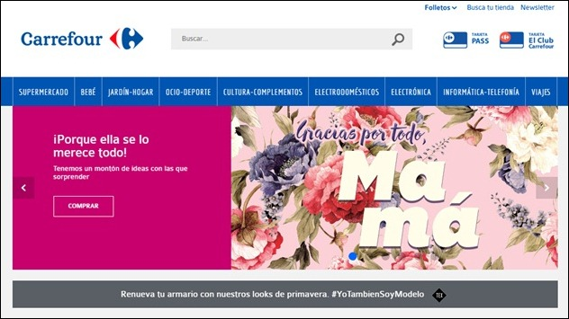 Abrir mi cuenta Carrefour.es