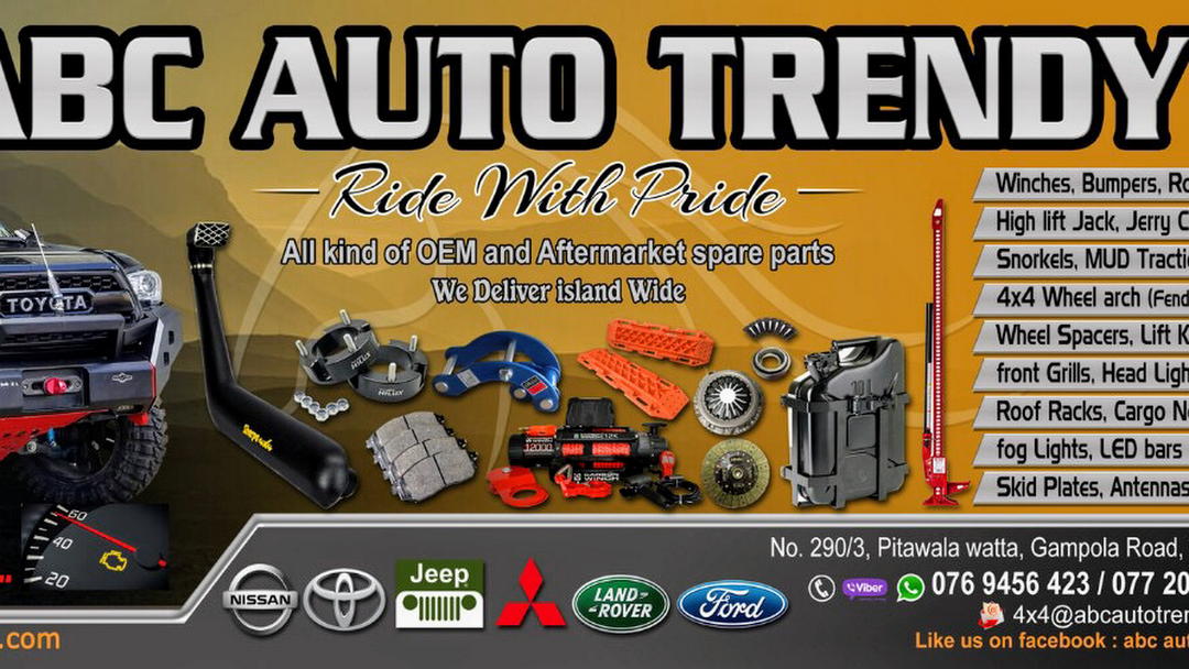 Uitgelezene ABC Auto Trendy (4x4 Off-Road Accessories) - 4X4 Off Road LY-91