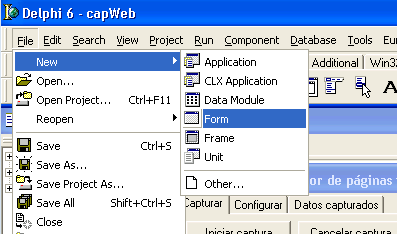 Desarrollar aplicación Delphi para indexar páginas web y almacenar el HTML en base de datos Paradox
