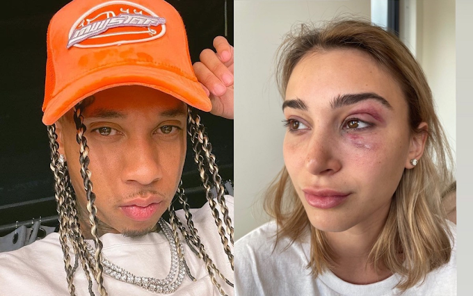 Tyga's ex-girlfriend Camaryn Swanson accuses him of domestic violence after heated argument at his home