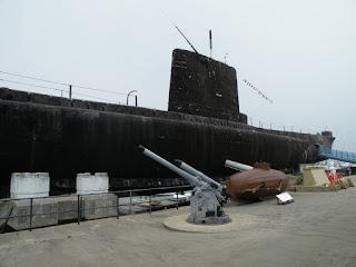 """Госпорт. Музей Подводных Лодок. Подлодка """"Alliance"""" 1947 года."""