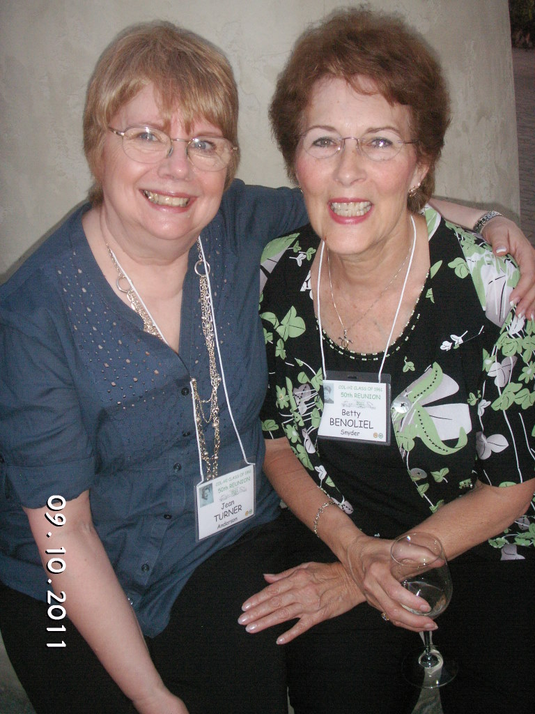 Jean Turner, Betty Benoliel