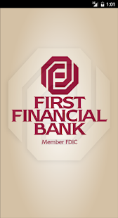 First Financial Bank- screenshot thumbnail