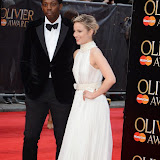 OIC - ENTSIMAGES.COM - Adrien Sauvage and Dianna Agron at the The Olivier Awards in London 12th April 2015  Photo Mobis Photos/OIC 0203 174 1069