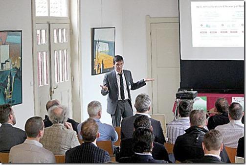 Fernando Luis Ruiz Gómez, boliviano que trabaja para Huawei