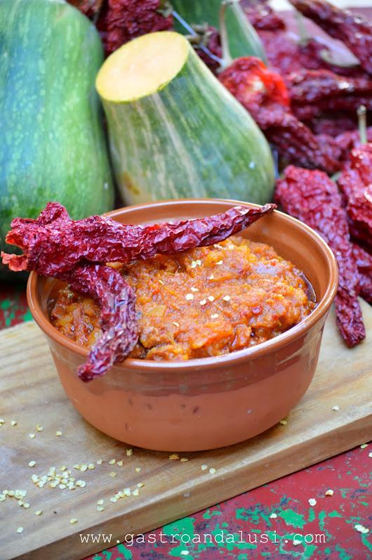 Calabaza Frita Con Pimientos Choriceros Para El Reto Saladao Con - Recetas-de-calabaza-frita