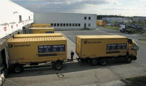 cơ sở giao hàng chéo độc quyền (trung tâm hậu cần)ởĐức