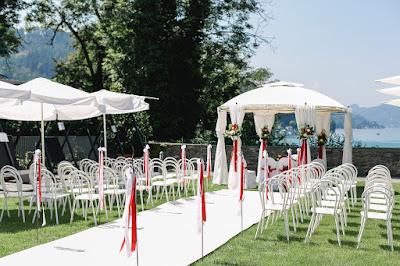standesamtliche Hochzeit im Garten