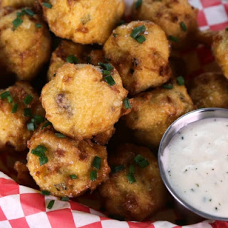 Clam Chowder Fritter.