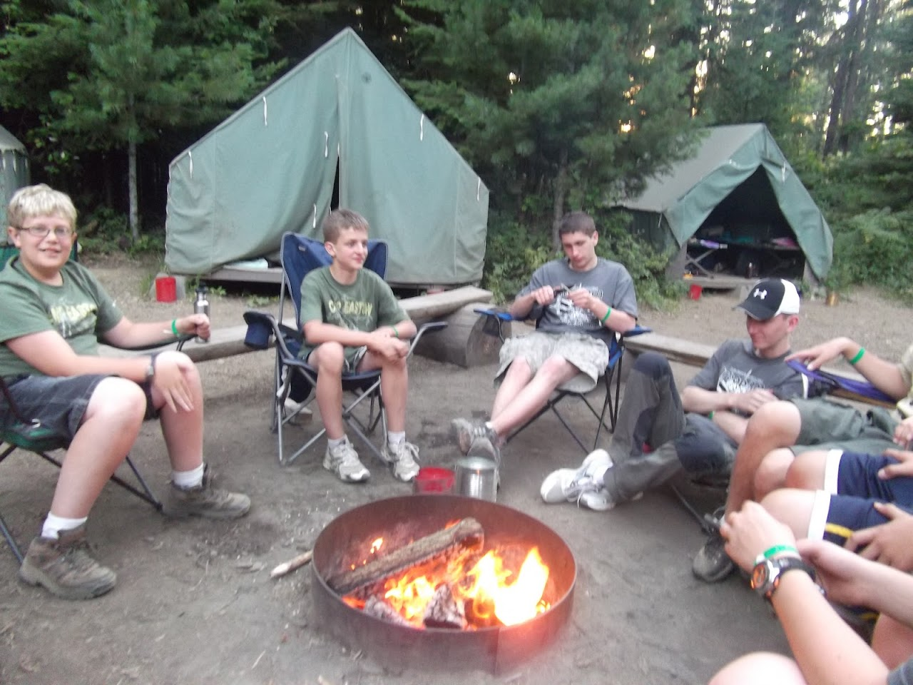 First Camp Fire for the trip