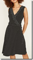 Oasis Mixed Spot Sleeveless Dress