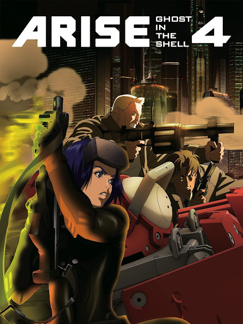 Ghost in the Shell: Arise – Border 4: Ghost Stands Alone