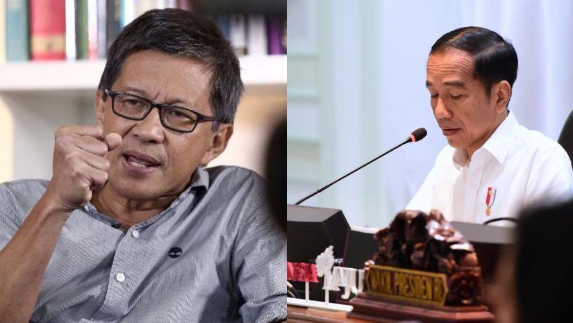 Demi Selamatkan KPK Sepenuhnya, Rocky Gerung Sebut Kekuasaan Rezim Jokowi Harus Segera Diakhiri