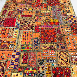 Hand-Sewn Indian Wedding Blanket