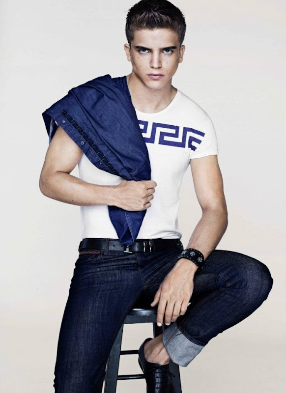 River Viiperi @ Elite London/Soul for Versace for H&M Cruise 2012 lookbook.  Ph: TBD