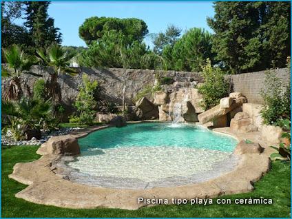 Fondos de albercas piscinas y jardines con rocas artificiales for Albercas para jardin