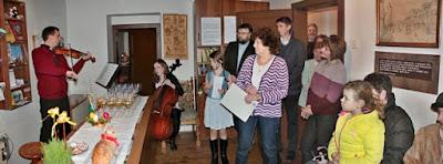 Velikonoční výstava v Domku Boženy Němcové  17.3.-28.3.2016