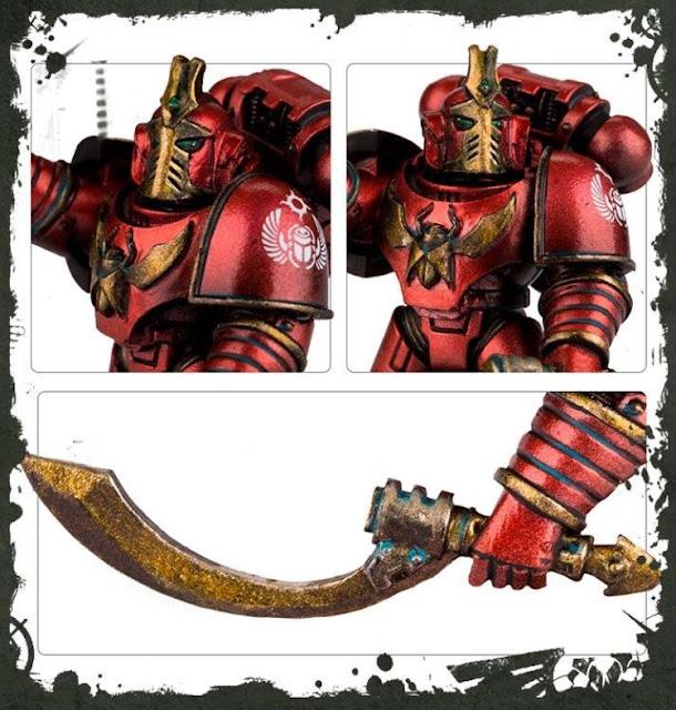 Forgeworld Thousand Sons Legion Khenetai Occult Blade Cabal *BITS* Torso