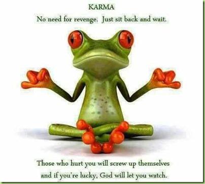 frog karma