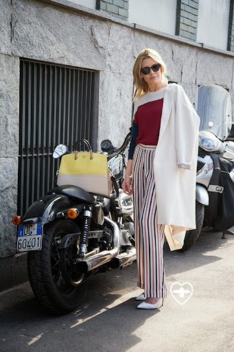 Amanda Bergmann; ceo; Oliver Peoples glasses; Malene Birger coat; Malene Birger jumper; Malene Birger trousers; Gianvito Rossi shoes; Furla bag;