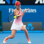 Elina Svitolina in action at the 2016 Australian Open