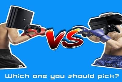 The War of Consoles - PlayStation 4 VS Xbox One