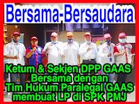 Membuktikan Solidaritas GAAS Dengan Mendampingi Kuasa Hukum Kasus UU ITE di Polda Metro Jaya