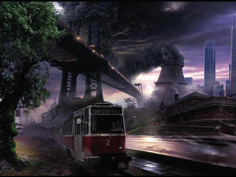 Black Poisoned Tower, Magical Landscapes 1