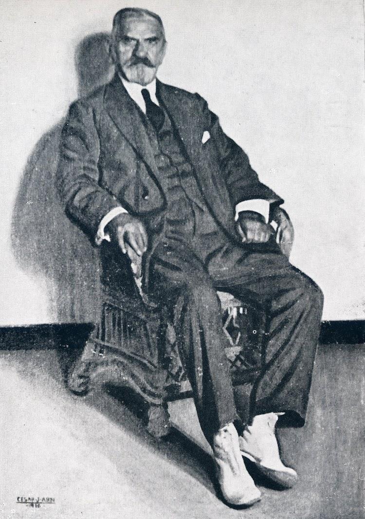 El Capitan D. Fernando Gutierrez Cueto. Oleo del pintor Cesar Abin, propiedad de la familia Rivero en Cabezón de la Sal. Del libro Capitanes de Cantabria.JPG