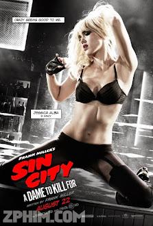 Thành Phố Tội Ác 2 - Sin City: A Dame to Kill For (2014) Poster
