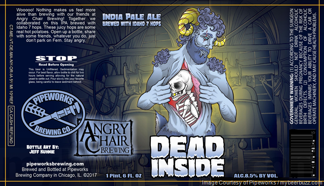 Pipeworks & Angry Chair Collaborate On Dead Inside