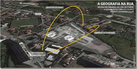 Geografia na Rua - Calendário Solar 2
