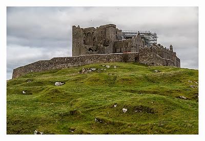 Rock of Cashel - Die Kathedrale von Hinten