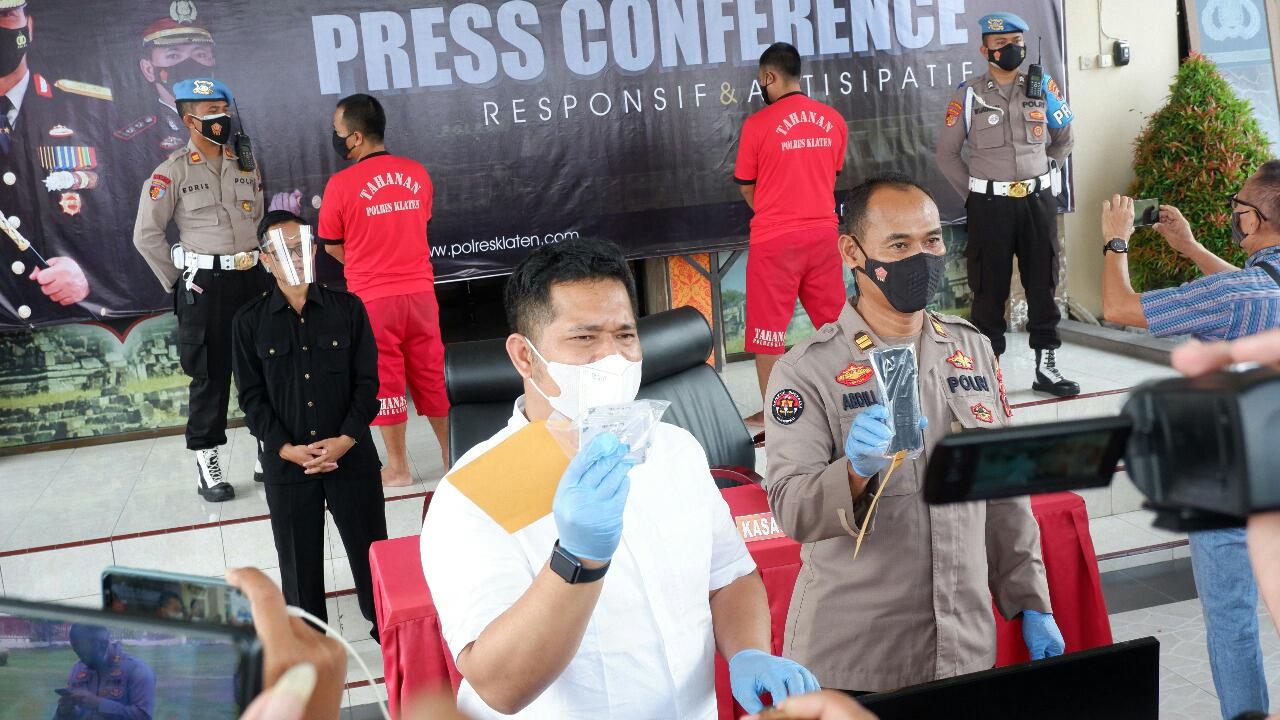 2 Orang Pelaku Pembuat Sertifikat Covid-19 Palsu di Ringkus Satreskrim Polres Klaten