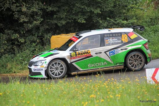 Škoda Fabia R5 Fabian Kreim Rallye Deutschland 2016