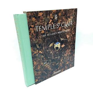 """Temple St. Clair """"The Golden Menagerie"""" Signed Book"""