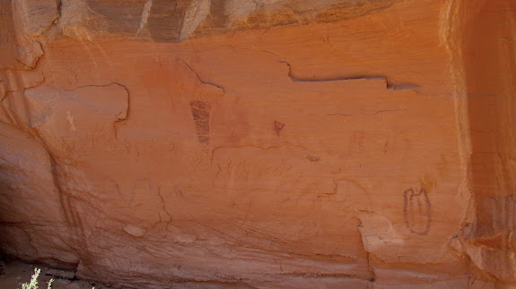 Small pictograph panel