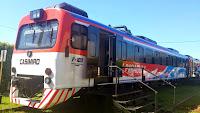 """Randazzo destacó que """"en menos de un mes, el tren Posadas-Encarnación ya transportó más de 100 mil pasajeros"""""""
