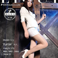 LiGui 2014.10.15 网络丽人 Model 允儿 [42P] cover.jpg