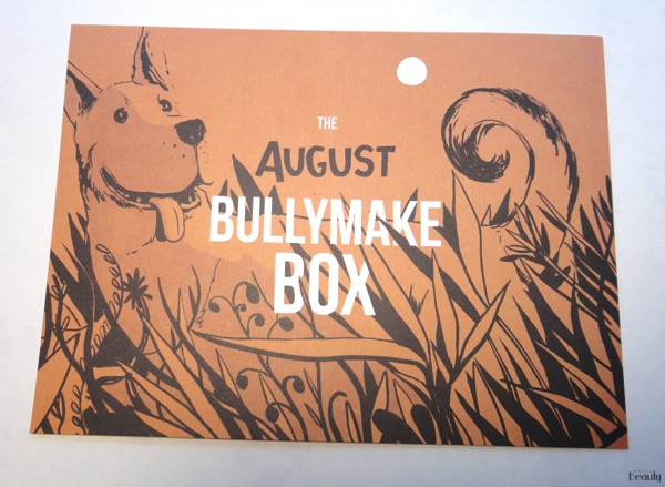 August 2018 Bullymake Box 2