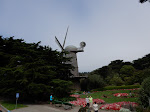 One of the Dutch Windmills found in the park