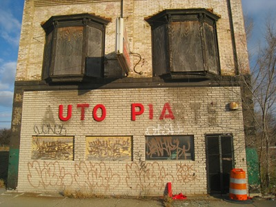 auto parts abandoned