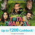 Paytm - Get Upto Rs 200 Cashback on Total Dhamaal Movie Tickets