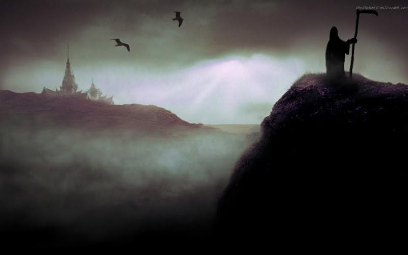 Weird Demoness Of Darkness, Horror And Dark Art