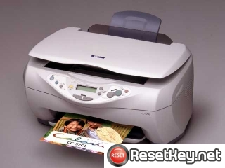 Reset Epson CC-570L printer Waste Ink Pads Counter