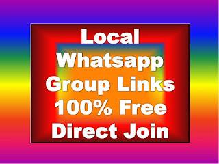 Local Whatsapp Group Links
