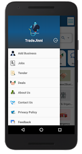 Trade Jinni- Business Page, Jobs, Deals, Tenders - náhled